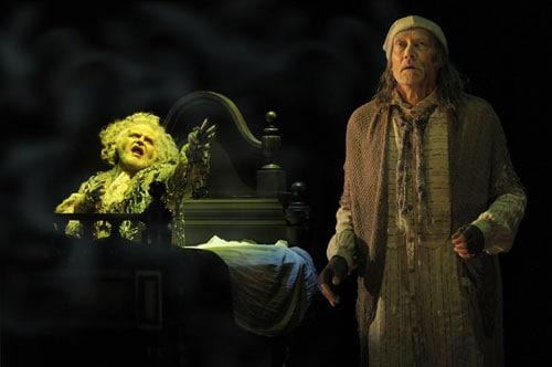 James Carpenter as Scrooge