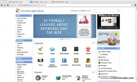 Chrome Web Store: More apps, this time for your browser