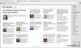 Reading NYT in a browser just became a whole lot better.