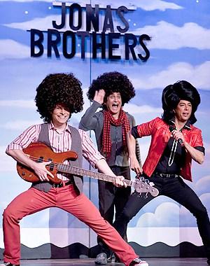 The Jonas Brothers. Photo by Rick Markovich