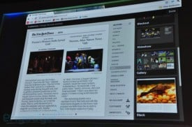 New York Times app on Google Chrome. Photo: Engadget.