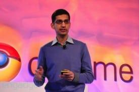 Google VP of Product Management Sundar Pichai. Photo: Engadget.