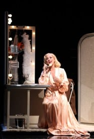 Anna Aimee White in San Jose Repertory Theatre's Co-Production of Backwards in High Heels. Photo by Tim Fuller.