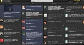 TweetDeck in Chrome, looks very Android-like (a good thing).