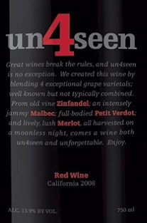 2008 un4seen Red Wine