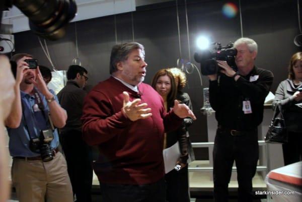 Steve Wozniak meets the press