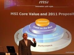 MSi Press Conference