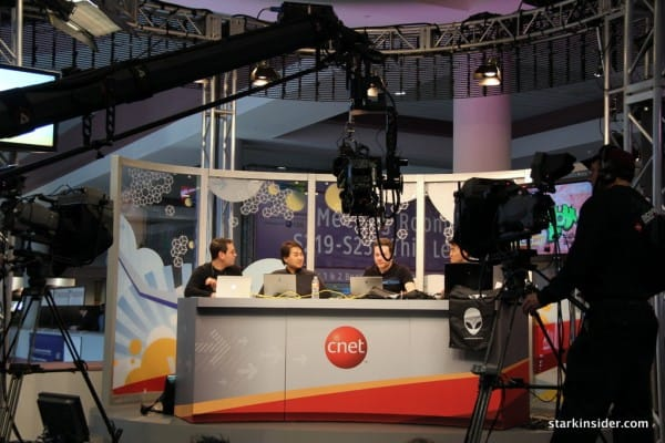 CNET Studio and war room impresses