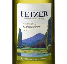 Fetzer Earth Day Chard 2010 Label