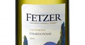Fetzer Earth Day Chard 2010 Label