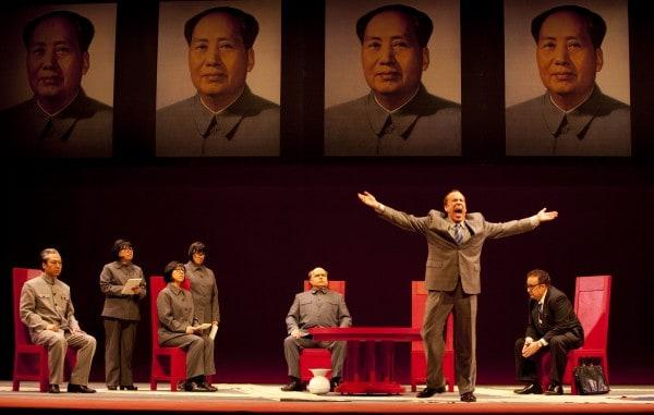 Nixon in China. Photo by Tim Matheson/Vancouver Opera.