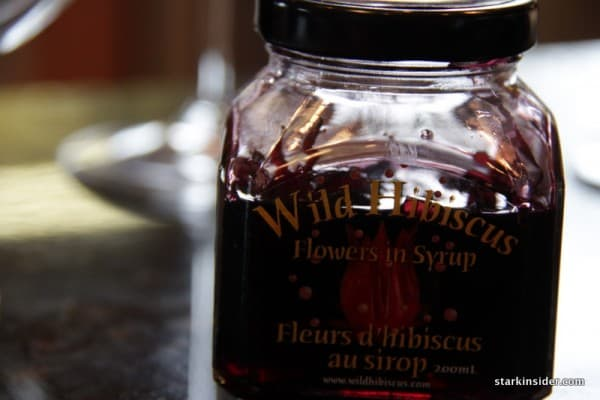 Hibiscus flower syrup
