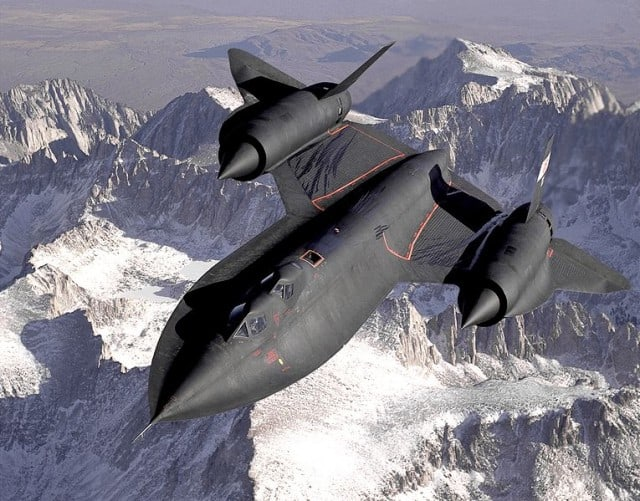 Lockheed SR-71 Blackbird. Source: Wikipedia.