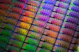 Sandy Bridge Wafer (Photo: Intel)
