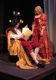 George Psarras (King Charles II), Therese Schneck (Nell Gwynn)