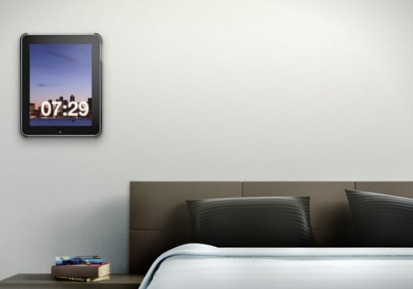 Vogel's Mount & Cover System for iPad - in Bedroom