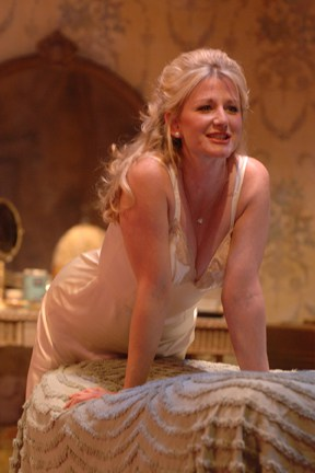 A.C.T. core acting company member René Augesen celebrates her tenth anniversary with A.C.T. Photo by Kevin Berne.