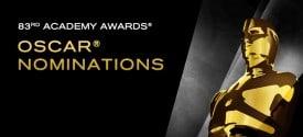 83rd Academy Award Oscar Nominations