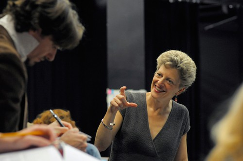 A.C.T. Artistic Director and longtime Pinter collaborator Carey Perloff directs The Homecoming. Photo by Kevin Berne.
