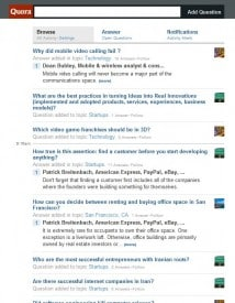 Quora Stream