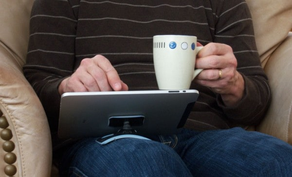 The PadPivot is also compatible with the Samsung Galaxy Tab, Blackberry PlayBook, Kindle and Nook.