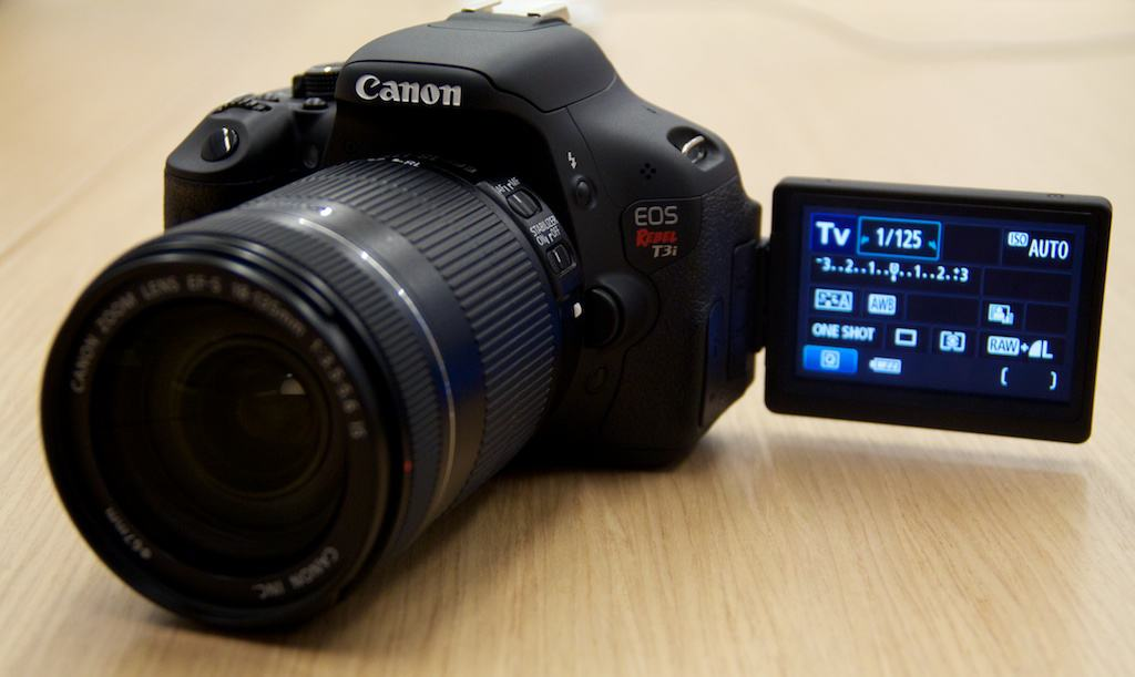 Canon Rebel T3i DSLR specs announced - but 60D still calling