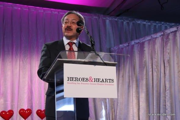 San Francisco mayor Ed Lee talks about healthcare, SFGH Foundation.