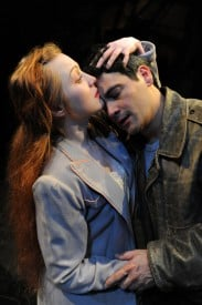 Summer Serafin as Edie Doyle and Johnny Moreno as Terry Malloy
