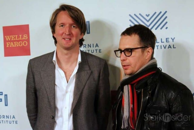 Director Tom Hooper (The King's Speech) and actor Sam Rockwell (Conviction) at Mill Valley Film Festival 33