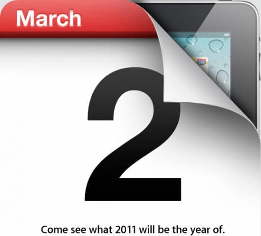Apple iPad 2 March 2, 2011