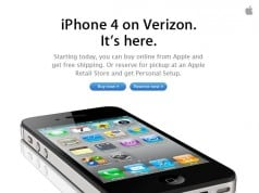 iPhone 4 on Verizon
