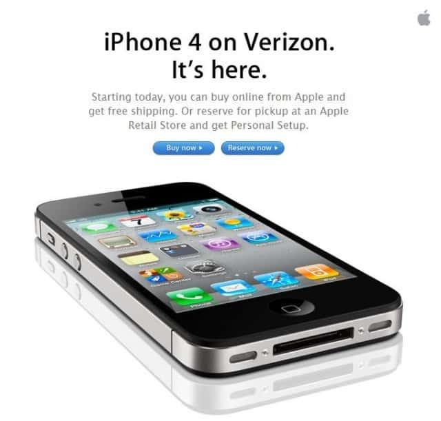 iPhone 4 on Verizon