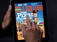 Wired magazine on Apple iPad