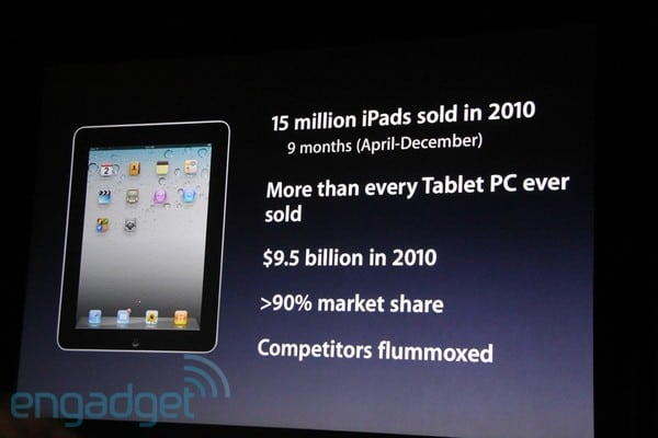 Apple iPad 2 launch San Francisco