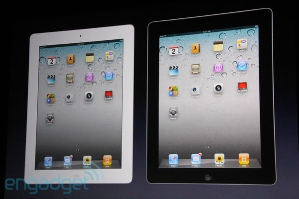 Apple iPad 2: Available in black or white