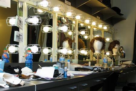 A dressing room at the Tony Award-winning Berkeley Repertory Theatre. Photographer: Cheshire Isaacs