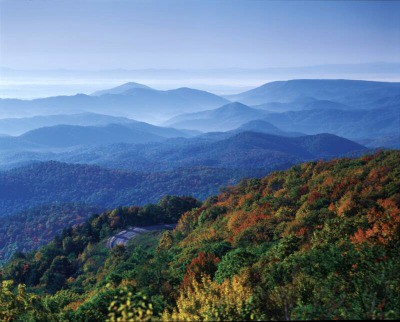Blue as the Blue Ridge Mountains