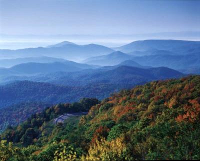 Blue as the Blue Ridge Mountains