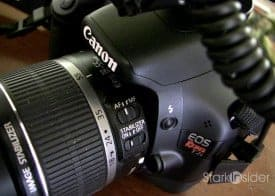Canon T2i with kit lens