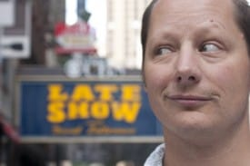 Comedian Steve Mazan is Dying to Do Letterman.
