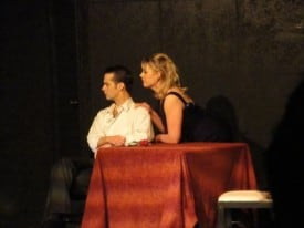 Chad Stender and Nicole Helfer in THE LOVER
