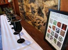 The tasting room at Ehler's Estate Napa Valley