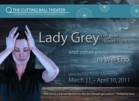 Lady Grey (in even lower light) - Cutting Ball Theatre