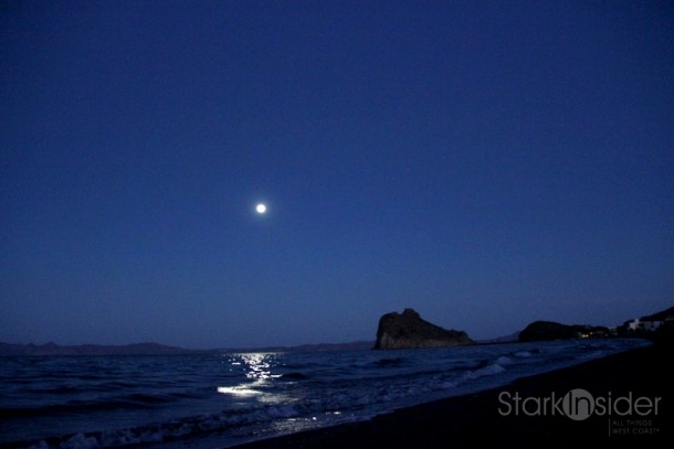 Moon over Loreto - on Sat (today) it will be at its fullest in 20 years.