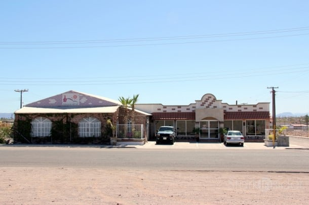 Gustavo owns this furniture store in Loreto. Despite the Tarantino exterior, quality and selection are impressive.