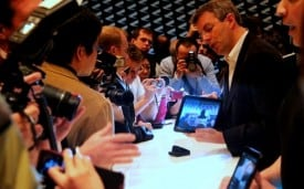 Nostalgia: Motorola Xoom - 15 minutes of fame at CES in January.