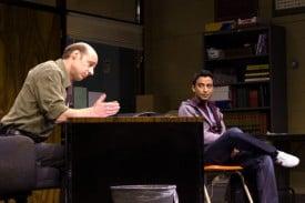 Vice Principal Danielson (Remi Sandri) and  Khadim (Adam Poss).