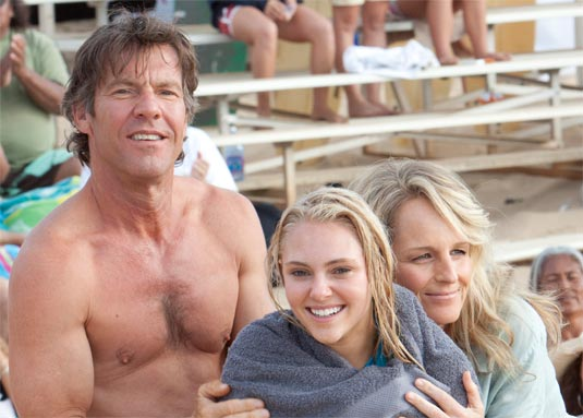 Dennis Quaid, AnnaSophia Robb and Helen Hunt star in Soul Surfer.