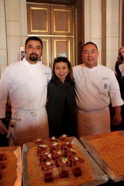 Loni with Chefs - ToT SF