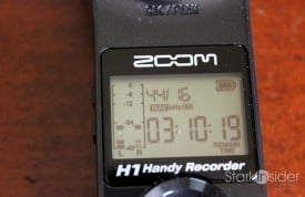 Zoom H1: Use it as a wireless lav!